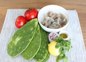 Dishes from Cacti with Strange Tastes in Quang Nam Province