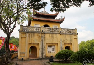 Thang Long Citadel in Hanoi (The World Cultural Heritage)