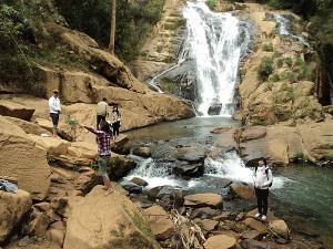 Tiger Cave Waterfall in Da Lat