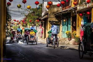Cyclo- A Cultural Vietnamese Beauty and an Attraction to Foreign Tourists