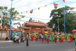 The Festival in Thang Tam Communal House, Vung Tau province
