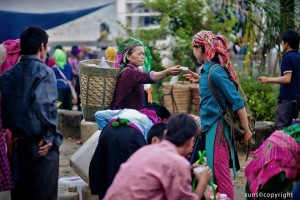 Ethnic Unique Market Fairs in Rocky Plateau Ha Giang