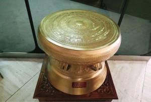 Vietnam bronze drum in the UN building in Switzerland