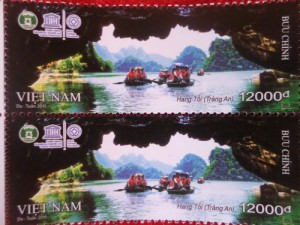 Release Stamps of World Heritage Trang An
