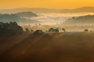 STUNNING BEAUTY OF DA LAT DAWN