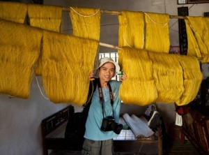 Golden Silk At Co Chat Traditional Village