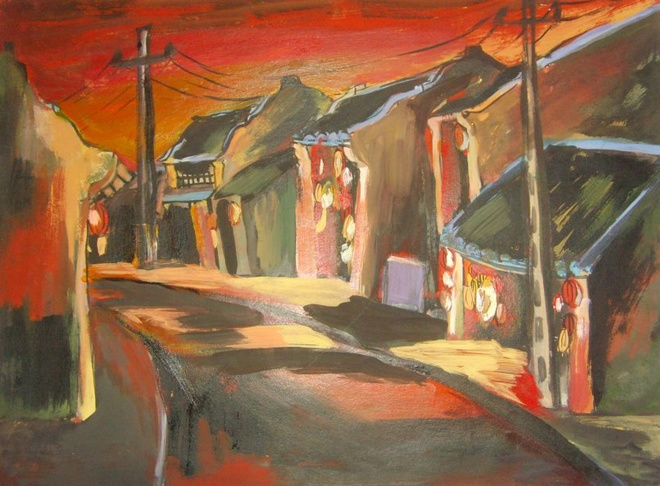 Hoi An Ancient Town Through Sketches (1)