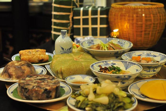 north-vietnam-new-year-food