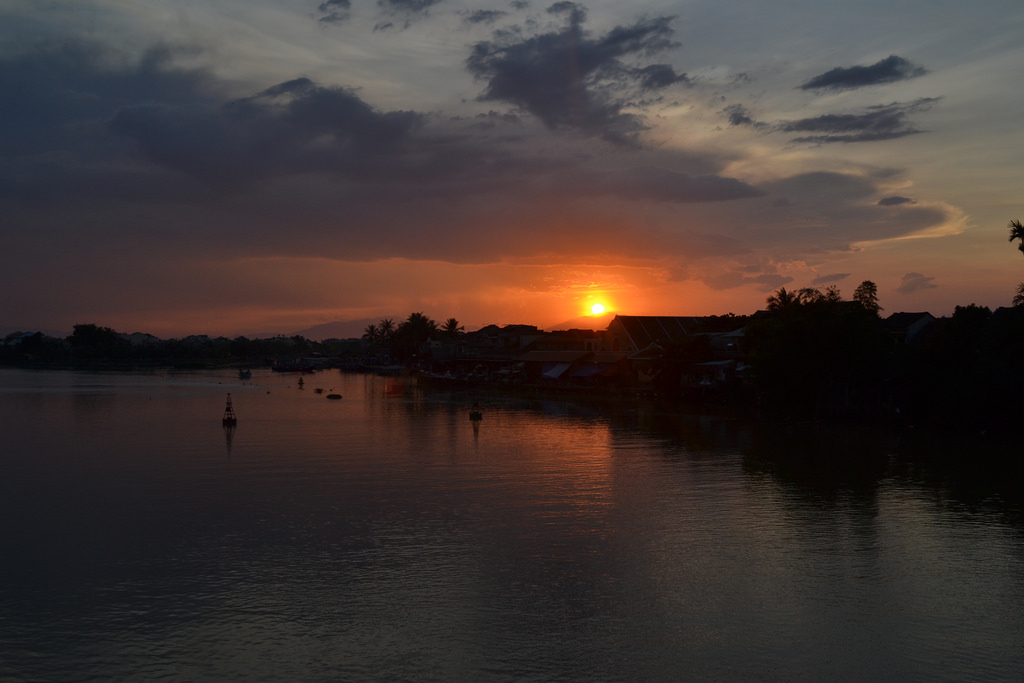 sunset-in-Hoian