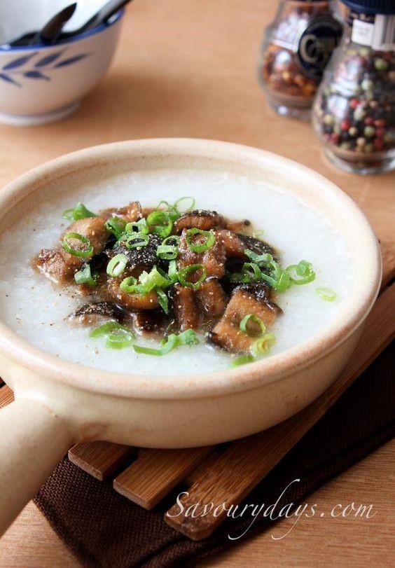 Cháo cay (Spicy porridge)