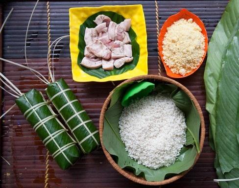 ingredients of making Chung Cake