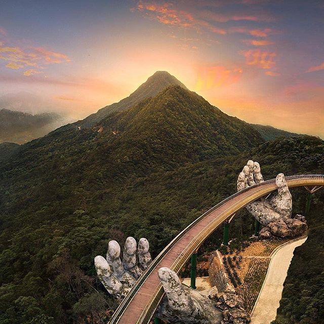 Ba Na Golden Bridge