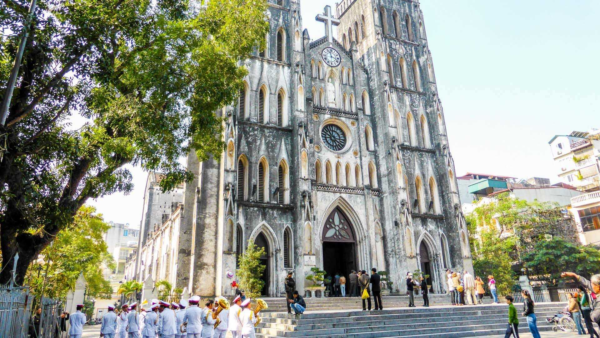 Saint Joseph Cathedral - a Roman Catholic cathedral in Ha Noi