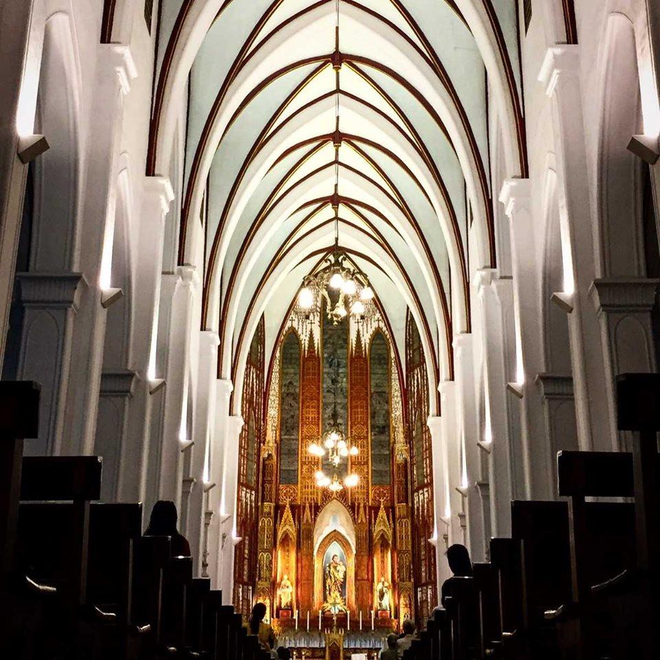 Interior of Jospeh Cathedral