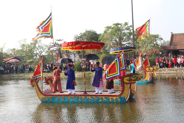 An activity of Keo festival