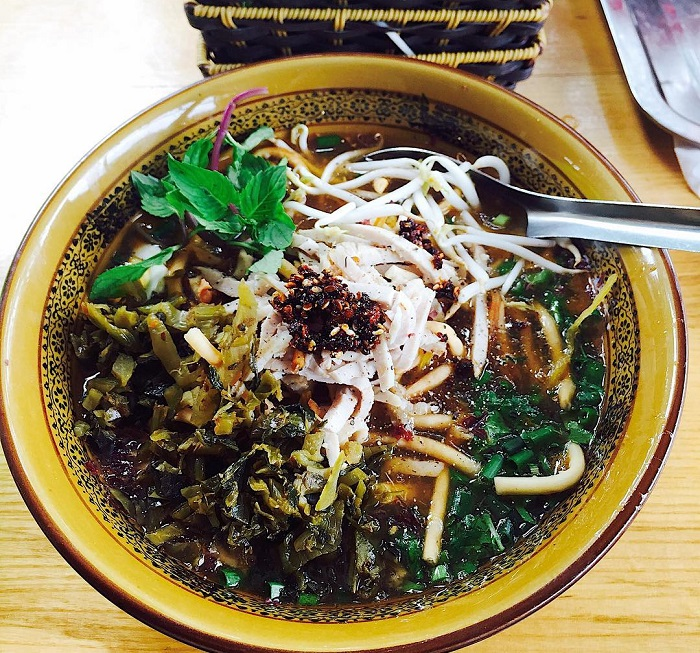 This dish is combined various ingredients.