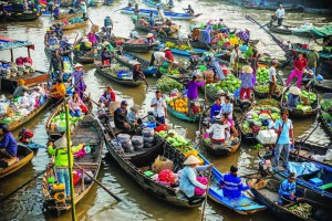 A guide on how to visit Cai Rang floating market