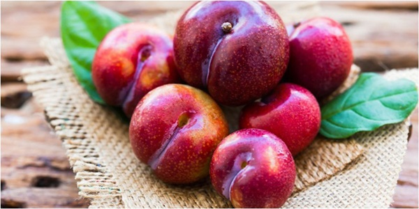 Plum fruit-believed to help kill inner worms