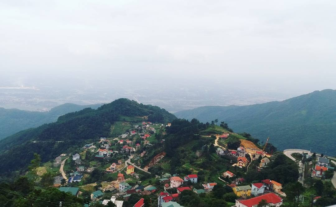 Tam Dao-the foggy town on the top of mountain