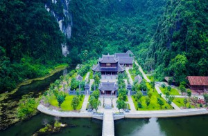 Trang An the heritage site, a masterpiece of the Nature
