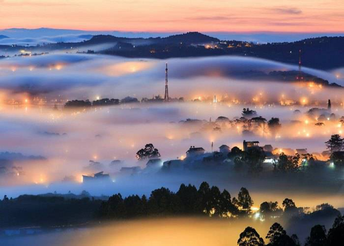 Da Lat the foggy city