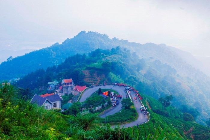 Tam Dao-the pretty town on mountains' top