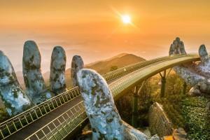 The Golden bridge-new symbol of Da Nang