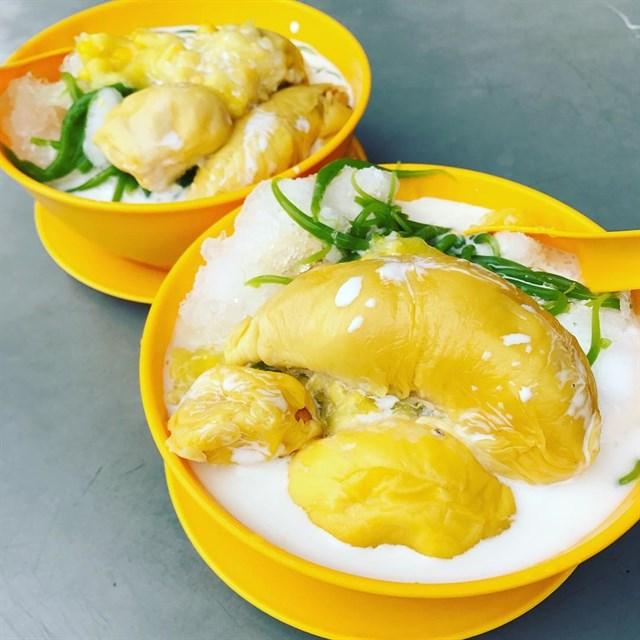 Durian dessert soup