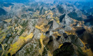 Dong Van stone plateau-the fairy land of rock in Northwest of Vietnam
