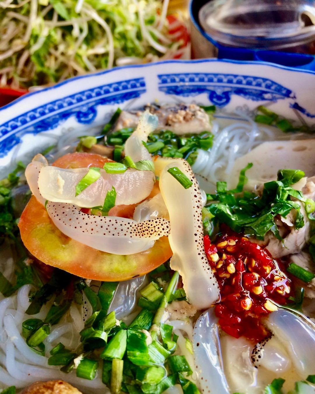 Jellyfish noodles not only earn favour from the locals in Nha Trang but it also gains the heart of many visitors