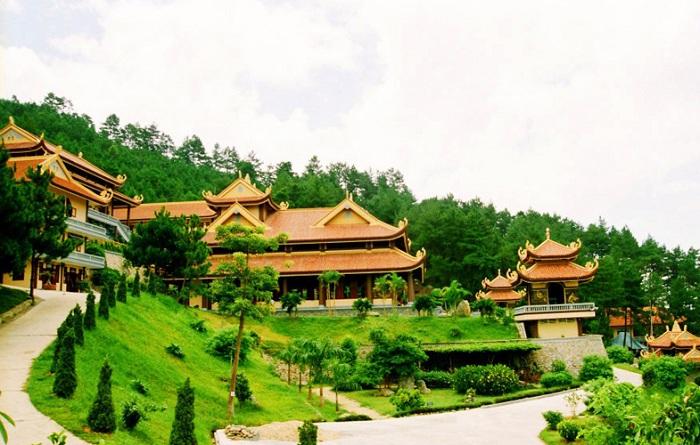 The Dalat Zen monastery, Thien Vien Truc Lam